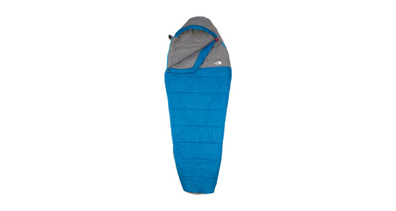 Saco de dormir Momia The North Face Aleutian 20/-7 Long gris/azu